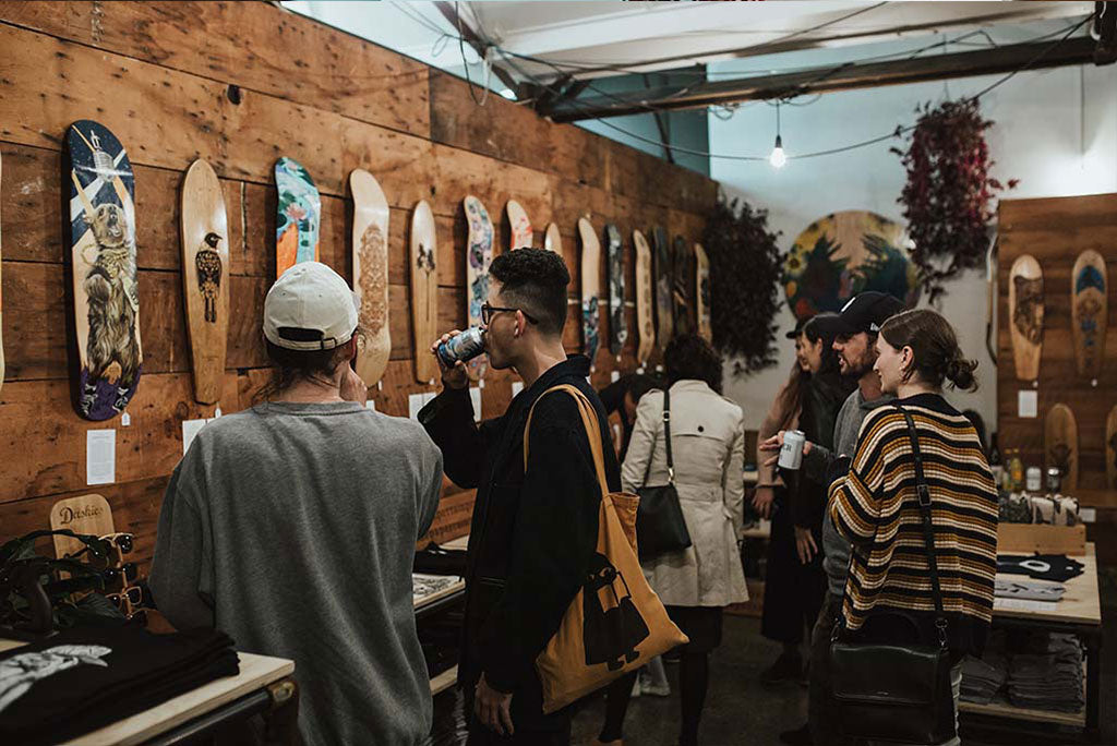 The Paper Rain Project pop up store, Auckland May 2018