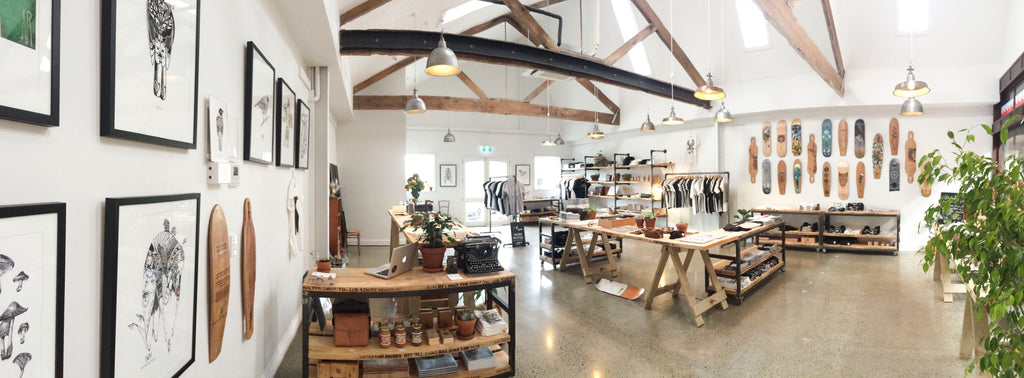 Our new store at The Tannery in Christchurch.