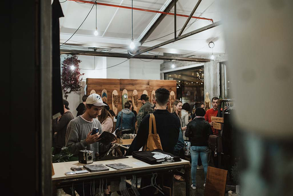 Paper Rain ~ Ponsonby Pop Up