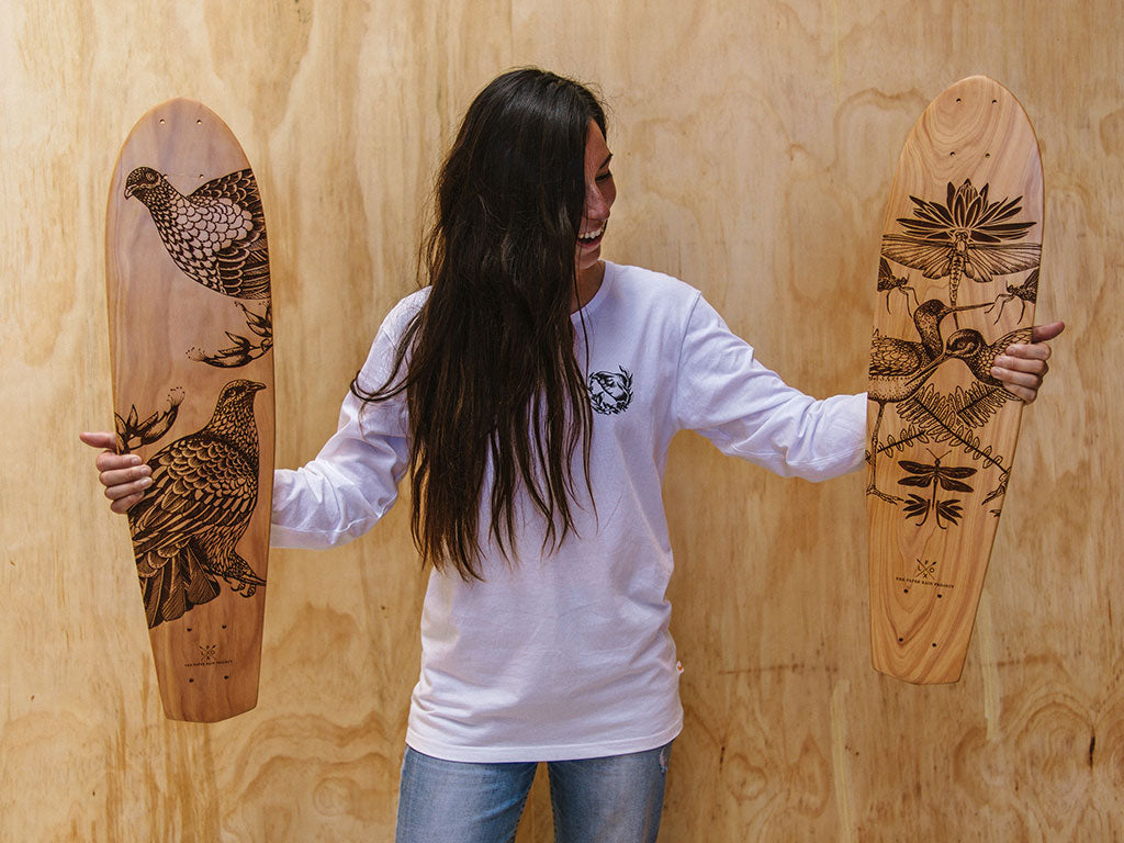 Skateboard Art by The Paper Rain Project, Returns and Exchanges