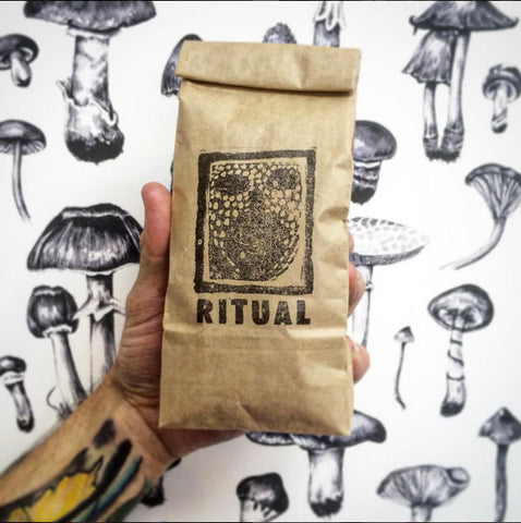 The Paper Rain Project with Ritual Coffee