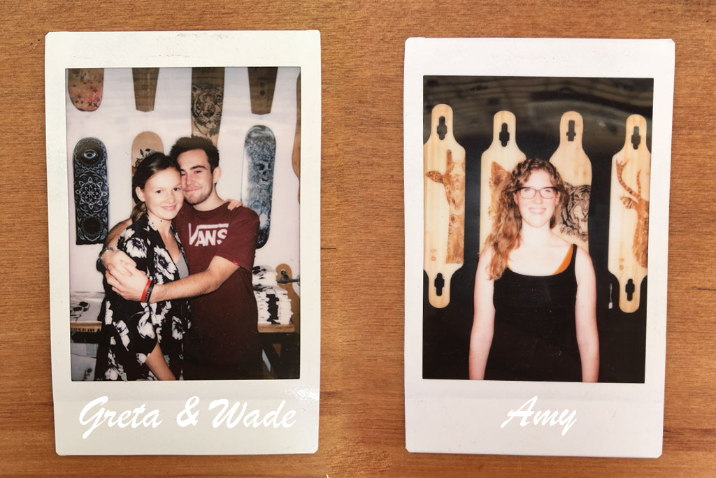 Instax of Staff at The Paper Rain Project