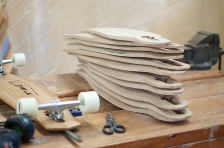 Recycled Wine-barrel Longboards by The Paper Rain Project
