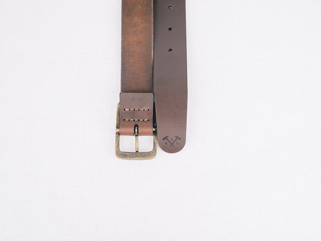 Ol' Faithful Belt made by The Loyal Workshop
