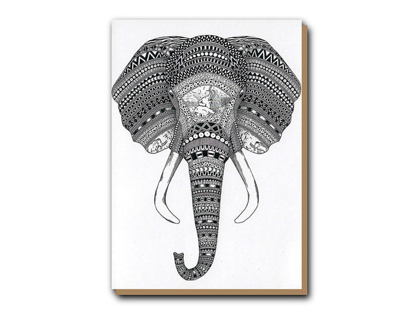 Tobias Illustrations greeting card An Elephant Never Forgets