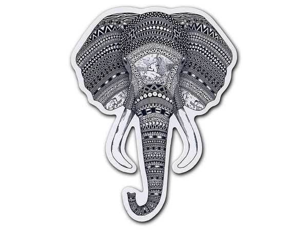 Illustrate stickers An Elephant Never Forgets sticker by Tobias Illustrations