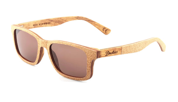 'Achilles' Duskies sunglasses with CR39 Polarised brown lens