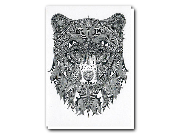Tobias Illustrations greeting cards Black Bear