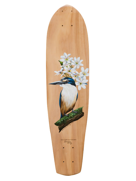 Kingfisher - Emmaline Bailey, hand painted art board