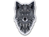 Illustrate stickers Grey Wolf sticker by Tobias Illustrations