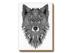 Tobias Illustrations greeting cards Grey Wolf