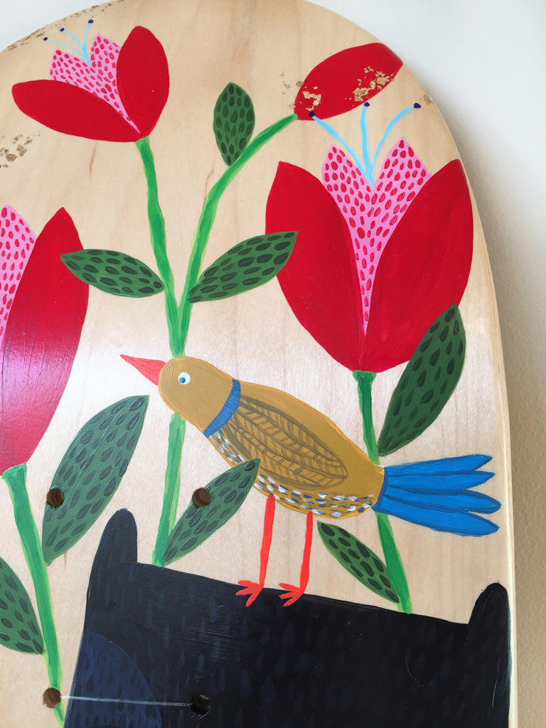 Hope acrylic hand painted on maple board by creative Studio Soph