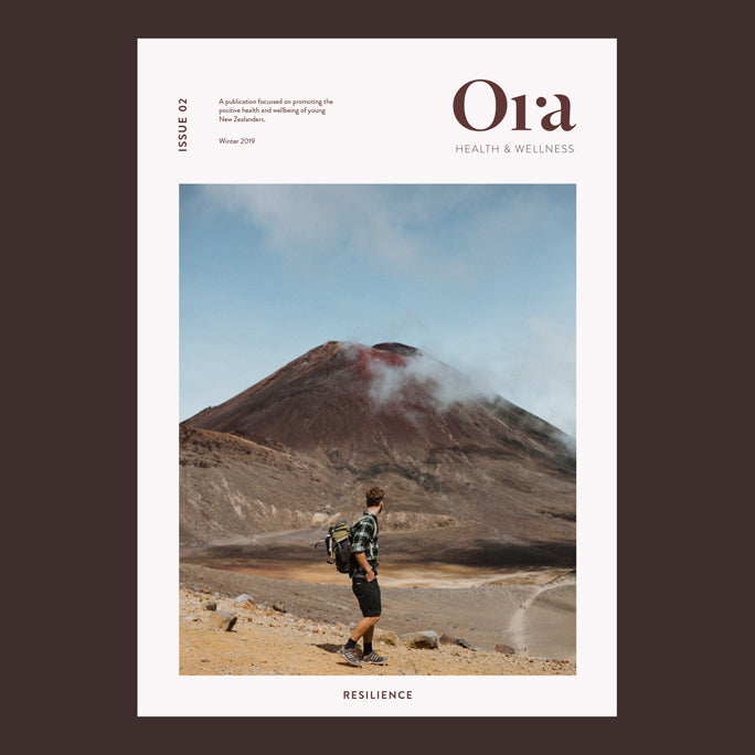 Cover of issue 02 - Resilience of Ora Magazine