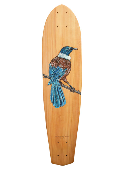 Kahurangi - Indigo Greenlaw - Macrocarpa Board Artwork