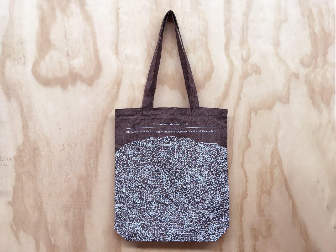 Kete, tote bag in support of Satisfy Food Rescue