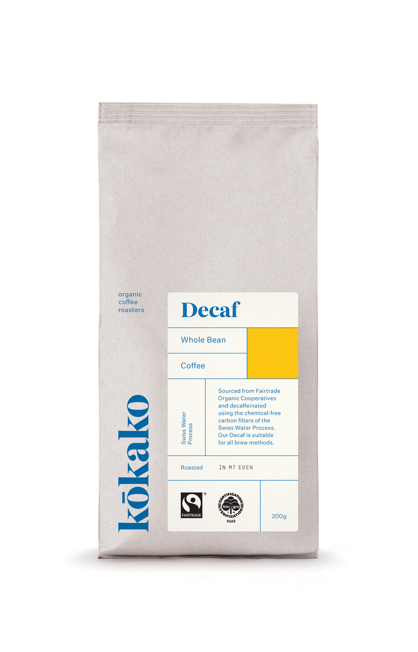 Kōkako Coffee ~ Decaf Blend