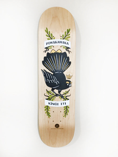 Hand painted skateboard by From the Mill