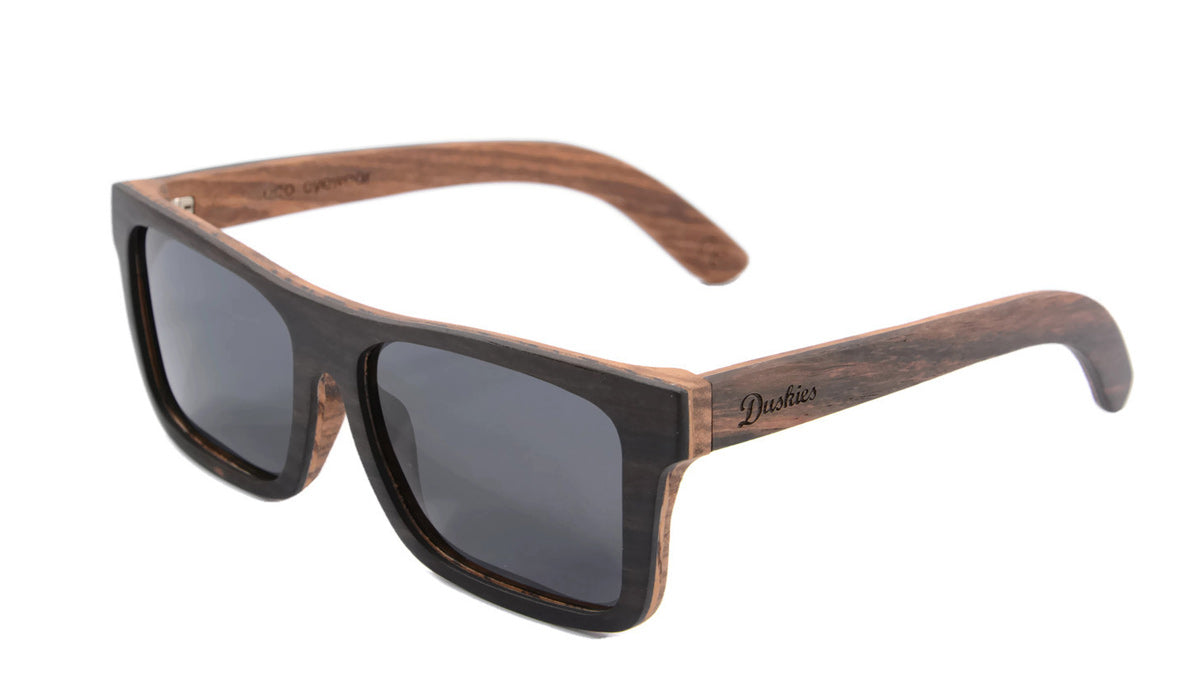 'Romeo' Duskies Sunglasses with polarised TAC grey lenses
