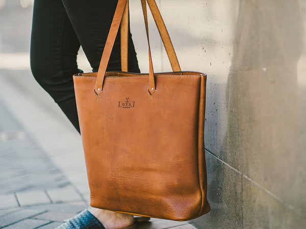 Rosa Tote //  The Loyal Workshop
