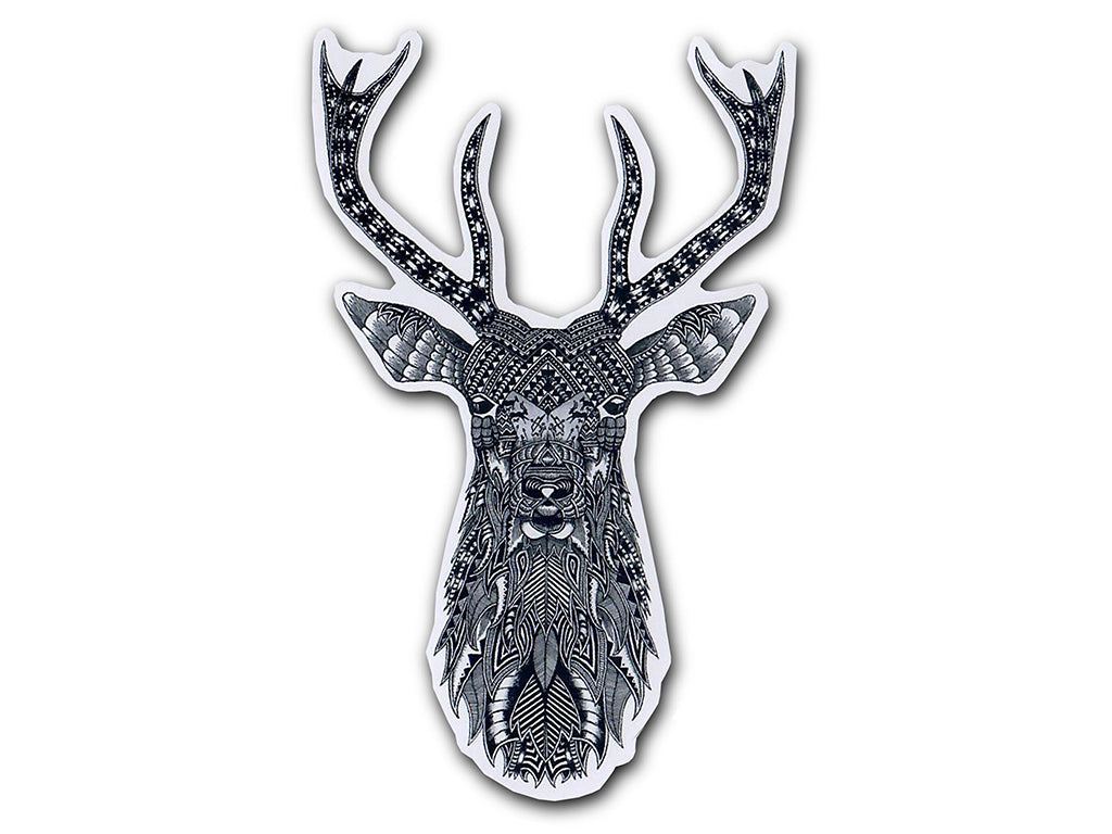 Illustrate stickers The Stag sticker by Tobias Illustrations