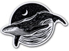 Illustrate stickers Whale sticker by Lloyd Stratton