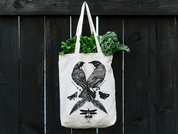 Two Tui - Hemp Tote Bag