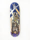 Monique Richards Boogie Bear hand painted maple skateboard