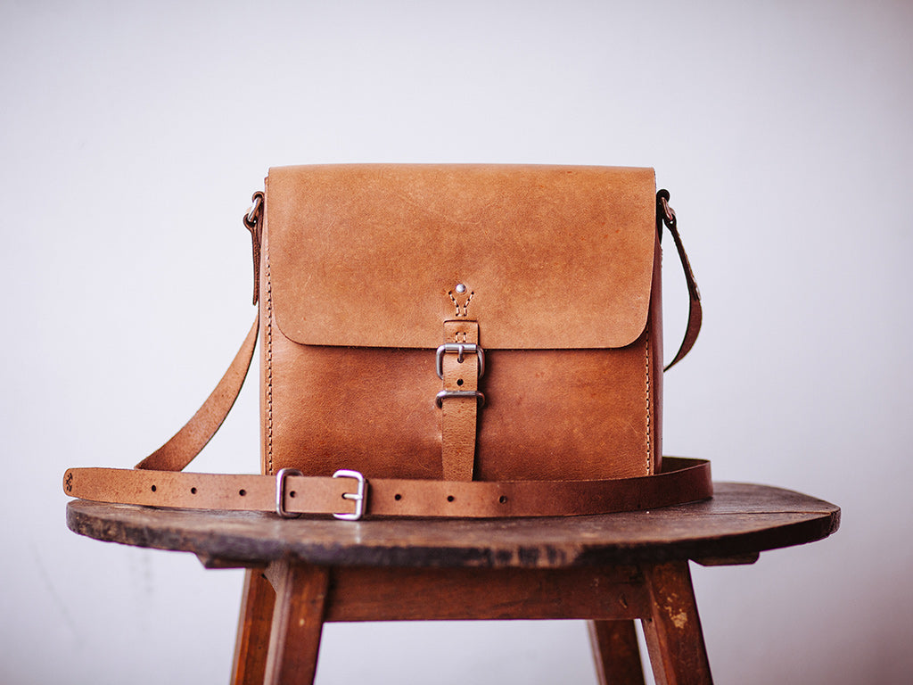 The Tan Companion Satchel by The Loyal Workshop