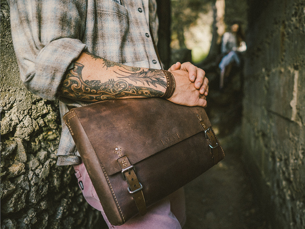 The Goodstead Satchel by The Loyal Workshop