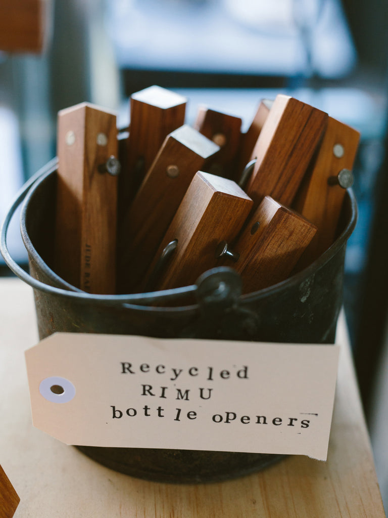 Recycled Rimu Bottle Opener