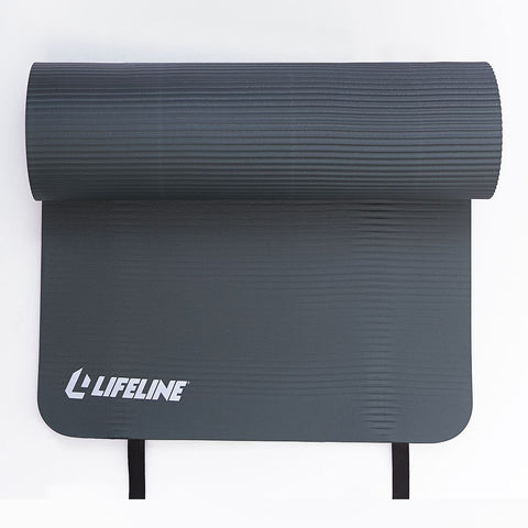 LIFELINE EXERCISE MAT PRO- CHARCOAL
