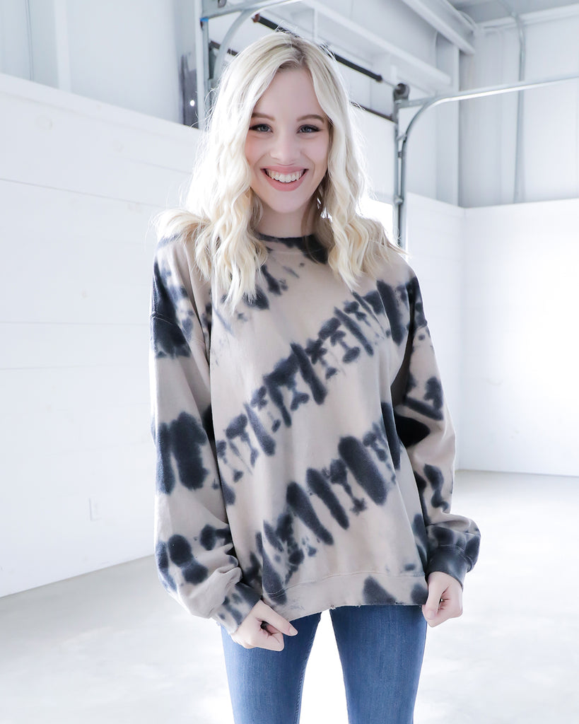 Ink Dye Sweatshirt