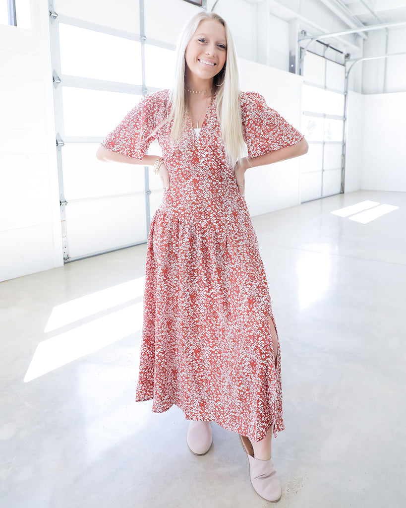 Freely Floral Dress