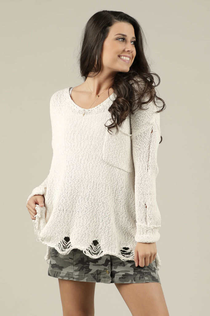 Snowball Fight Sweater - Ty Alexander's