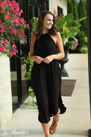 See Freedom - Halter Maxi Dress