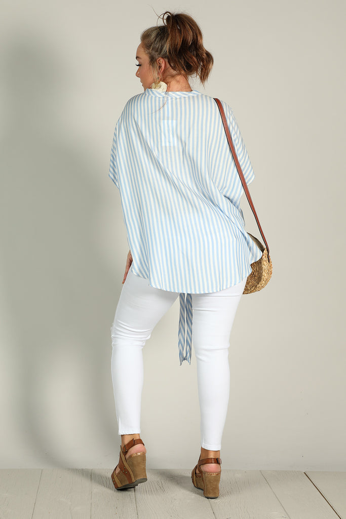 Beachy - Button Top