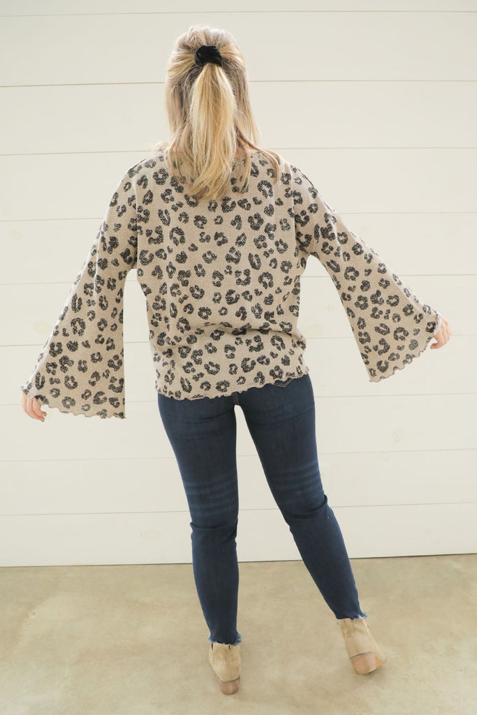 Flirty Animal Top - Ty Alexander's