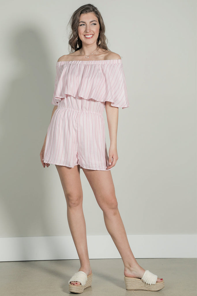 Lets Be Friends - Romper - Ty Alexander's