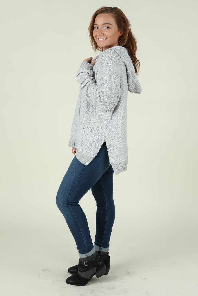 Snuggle Up- Fluffy Pullover- Ty Alexander's