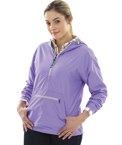 5809 | Women's Chatham Anorak Solid Quarter Zip