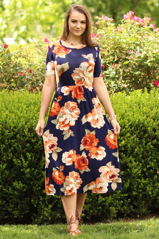 Flower Child - Floral Maxi Dress- Ty Alexander's