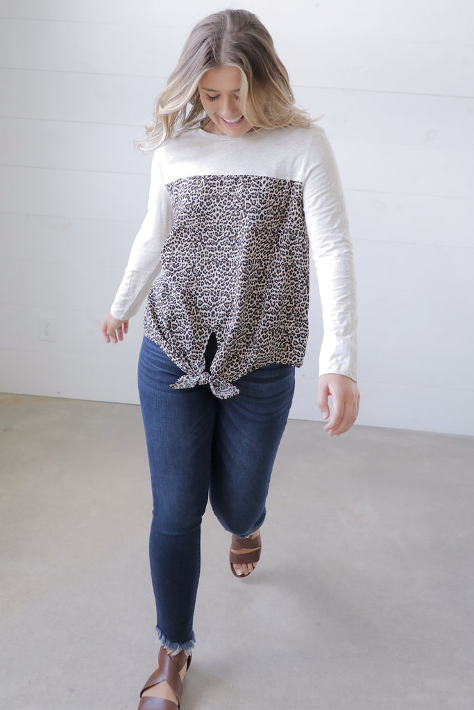 Gone Wild Animal Print Top - Umgee - Ty Alexander's Tops Collection