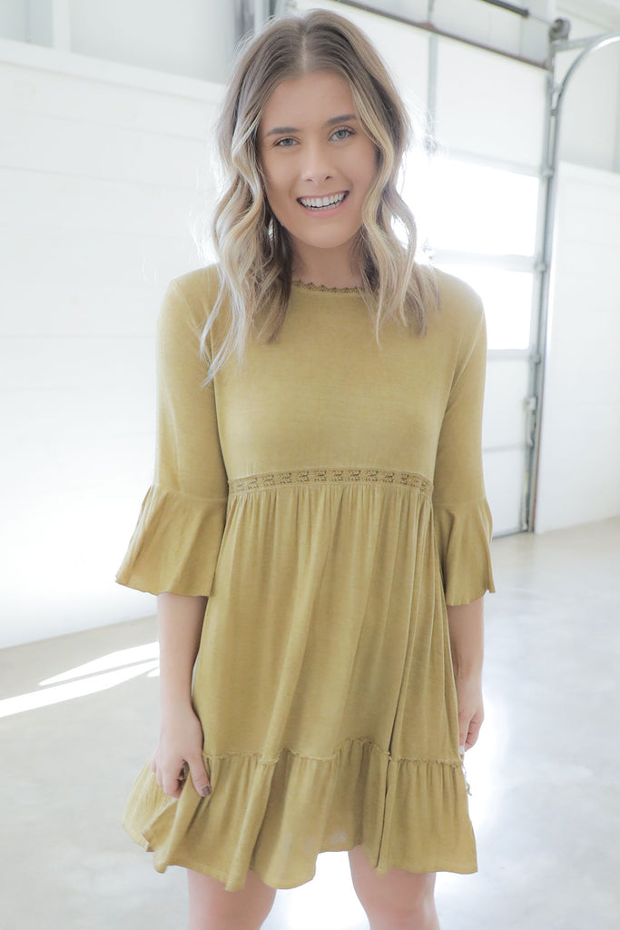 Chestnut Honey Dress- Ty Alexander's