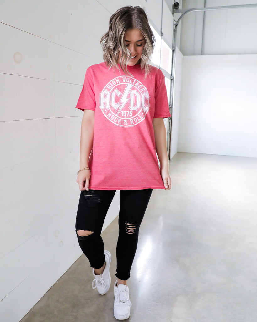 ACDC Red Tee