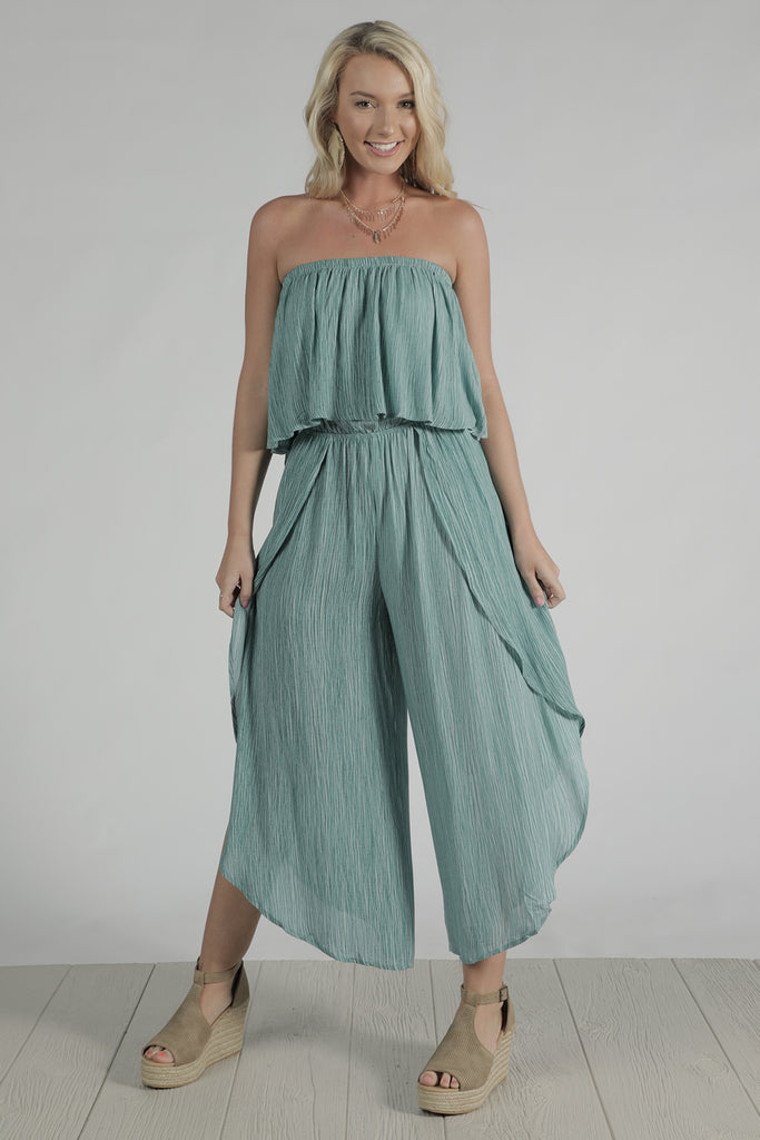 Boho Love - Off The Shoulder Jumpsuit - Ty Alexander's
