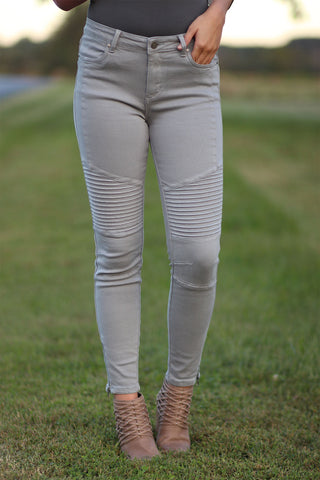 Edgy - Moto Colored Jeans - Ty Alexander's