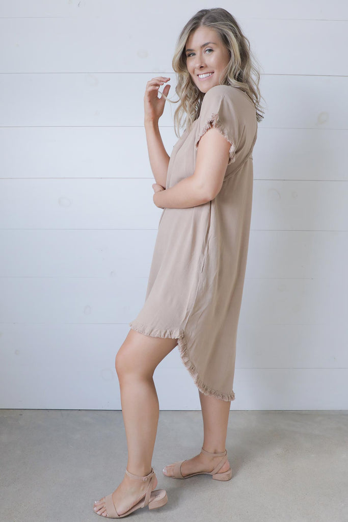 Bri Linen Dress - Umgee Dress