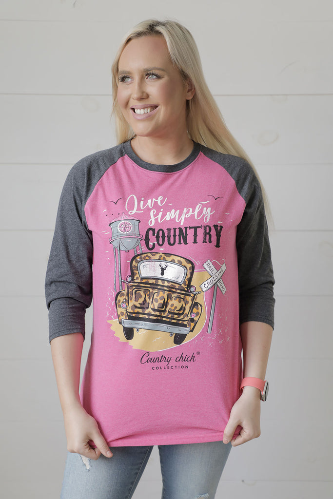 Simply Southern Country Tee - Ty Alexander's