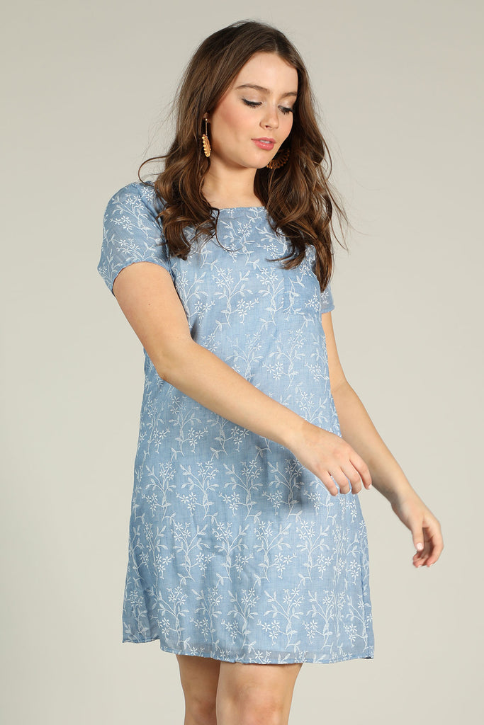 Just A Girl - Embroidered Dress - Ty Alexander's