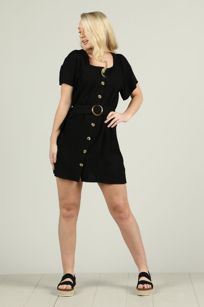 Keep On Keeping On - Linen Romper